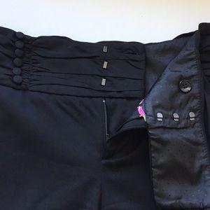 Elevenes unique black dress pants sz 0
